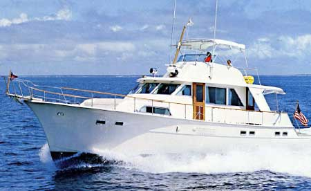HATTERAS 58 Yacht Fisherman. Sales Brochure 1